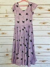 Dot Dot Smile Twirl Dress 8/10 Worn Once Empire Black Cats
