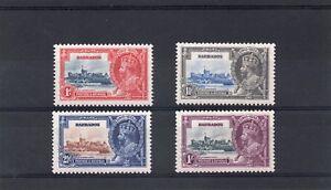 Barbados GV 1935 Silver Jubilee set  sg 241-44 H.Mint