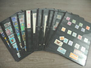 RYUKYU ISLANDS, Mint NH Stamp/FDC/Postal Card Collection in stock pages by Kenmo