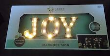 Metal LED Marquee Sign JOY Light Letters