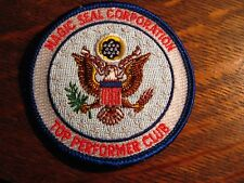 Magic Seal Corporation Jacket Patch - Vintage American Eagle USA Embroidered