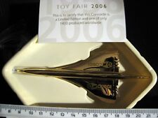 METAL CONCORDE GOLD + STAND LIMITED EDITION CS90521 ONE OF 1400 WORLDWIDE pm1