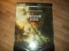 Hacksaw Ridge movie poster original d/s one 1 sheet Garfield Mel Gibson DAMAGED