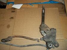 Early Corvette Factory 4 Speed Shifter and Two Linkages/Rods