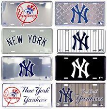 License Plate New York Yankees MLB Fan Apparel & Souvenirs