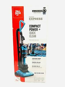 Dirt Devil Power Express Upright Bagless Vacuum Teal