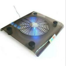 1 Fans USB Cooler Cooling Pad Stand LED Light Radiator for Laptop PC Notebook