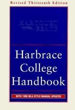 Harbrace College Handbook : With 1998 MLA Style Manual Updates, 13th Revised Edi