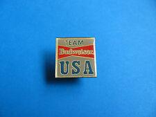 Vintage TEAM BUDWEISER USA Beer Pin Badge. BUD.