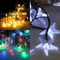 200 LED Solar Powered Fairy String Light Lamp Outdoor Garden Xmas Party