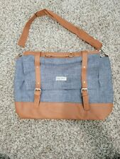 CRG PRESTIGE Hanging Computer Bag Carrying bag Blue Gray Great Condition