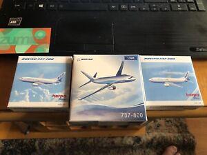 HERPA 1:500 Boeing Fleet collection Passenger Airplanes Diecast Plane Model