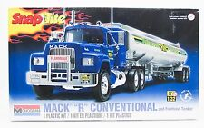 "Mack ""R"" Conventional with Trailer Truck Revell 85-1961 1/32 New Snap Model Kit"
