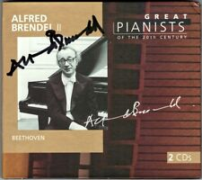 Alfred BRENDEL 2 Signiert GREAT PIANISTS OF THE 20TH CENTURY Beethoven Diabelli