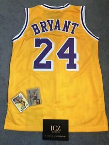 Authentic Autographed Kobe Bryant Signed Jersey WITH COA and BONUS CARDS