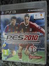 Pro Evolution Soccer 2010 PES Nuevo precintado PS3 Football futbol PAL España