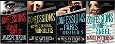 Confessions Series Collection Set Books 1-4 Large Paperback By James Patterson