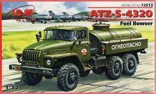 URAL ATZ 5-4320 FUEL TANK (SOVIET, EAST GERMAN, POLISH, UKRAINIAN MKGS) 1/72 ICM