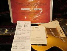 Gibson Custom Les Paul Goldtop 1954 Reissue Gloss Brazilian Fret Board 2003
