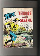 TEX TRE STELLE - -    N  93 TERRORE SULLA SAVANA