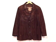 Wilsons Adventure Bound insulated distressed brown leather jacket / XL / nice 27
