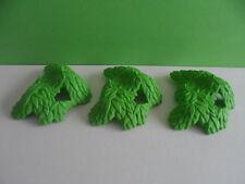 PLAYMOBIL – 3 feuilles d'arbres / tree leaves / 3015 3040 3269 3236 3036
