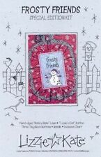 SOLD OUT! Retired Frosty Friends Cross Stitch Kit, Lizzie Kate
