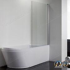 Sopravasca in cristallo da 86 cm x 140 h parete per vasca girevole  trasparente