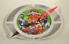 Disney Oval Child Kid Figure Food Plate Dish Power Rangers Operation Overdrive