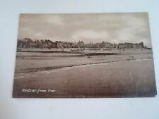 Vintage Old Postcard REDCAR FROM PIER Philco Series 4095 Used    §D58