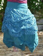 GYPSY PARACHUTE Skirt, Fairy, Boho, Elven, Tribal Skirt,Festival,Hippy,Pixie