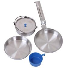 Deluxe Mess Kit 5 Piece Outdoor Camping Dinner Cooking Survival 168 Rothco