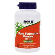 Now Foods Extrait de Palmier Nain Baies 550mg X 100 Végétarien Capsules