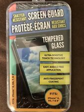 Tempered Glass Screen Guard fits Iphone 6,6s,7 & 8 New