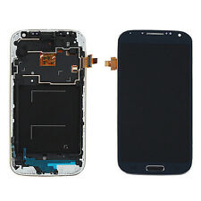 For Samsung Galaxy S4 i9505 LCD Display Touch Screen Digitizer + Frame Blue