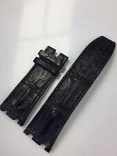 Audemars Piguet Royal Oak Offshore 28 mm Black Alligator Hornback Strap Band NEW