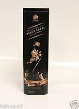 Johnnie Walker Black Label Collectible - Rare Hard To Find Tin Case