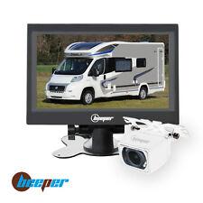 "Caméra de recul écran 7"" cam blanche RW7-B BEEPER"
