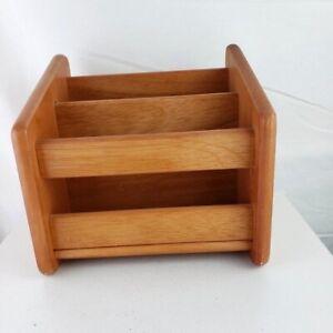 Wooden Mail Multifunction Organizer