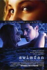 SWIMFAN Movie POSTER 27x40 Jesse Bradford Erika Christensen Shiri Appleby Kate