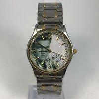 Valdawn 5341 Mens Signature Product Metal Bezel Two tone Bracelet Quartz Watch
