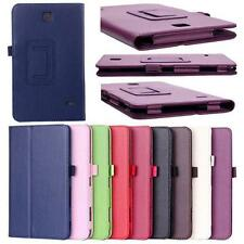 Doux Cuir Support Housse Pour Samsung Galaxy Tab 4 7Inch Tablette SM-T230