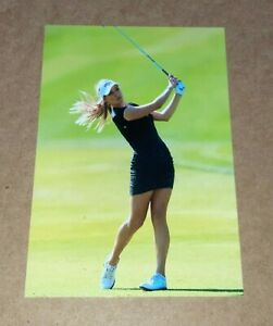 4x6 GLOSSY PHOTO ~ Hot Sexy Busty Golfer PAIGE SPIRANAC ~ course picture (#P12)
