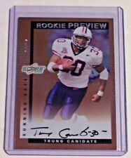 2000 Score Rookie Preview Autograph Trung Canidate Rams Arizona Redskins