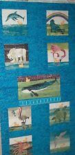 10 Little Rubber Ducks Quack Scenic Book Panel 5695 Quilt Andover Cotton Fabric