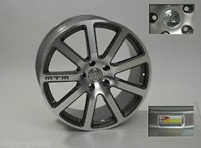 MTM Bimoto Felge 10,5x21 ET 52 Titanpoliert 5x130 71,6 Audi VW Porsche Alufelge