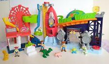 Disney Pixar Toy Story 4 Imaginext Playset Bundle -Carnival & Pizza Planet Toys