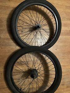 "20"" Weinmann Quando Tm19 BMX  Front/Rear Wheel Aluminum Rims Haro Dyno"