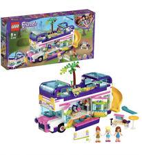 Lego 41395 Amigos Juguete de bus de la amistad con piscina, tobogán, vacaciones de verano