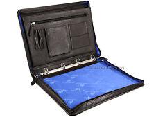 Primehide Zip Around Leather Folio A4 Document Holder Folder Business Case - 890